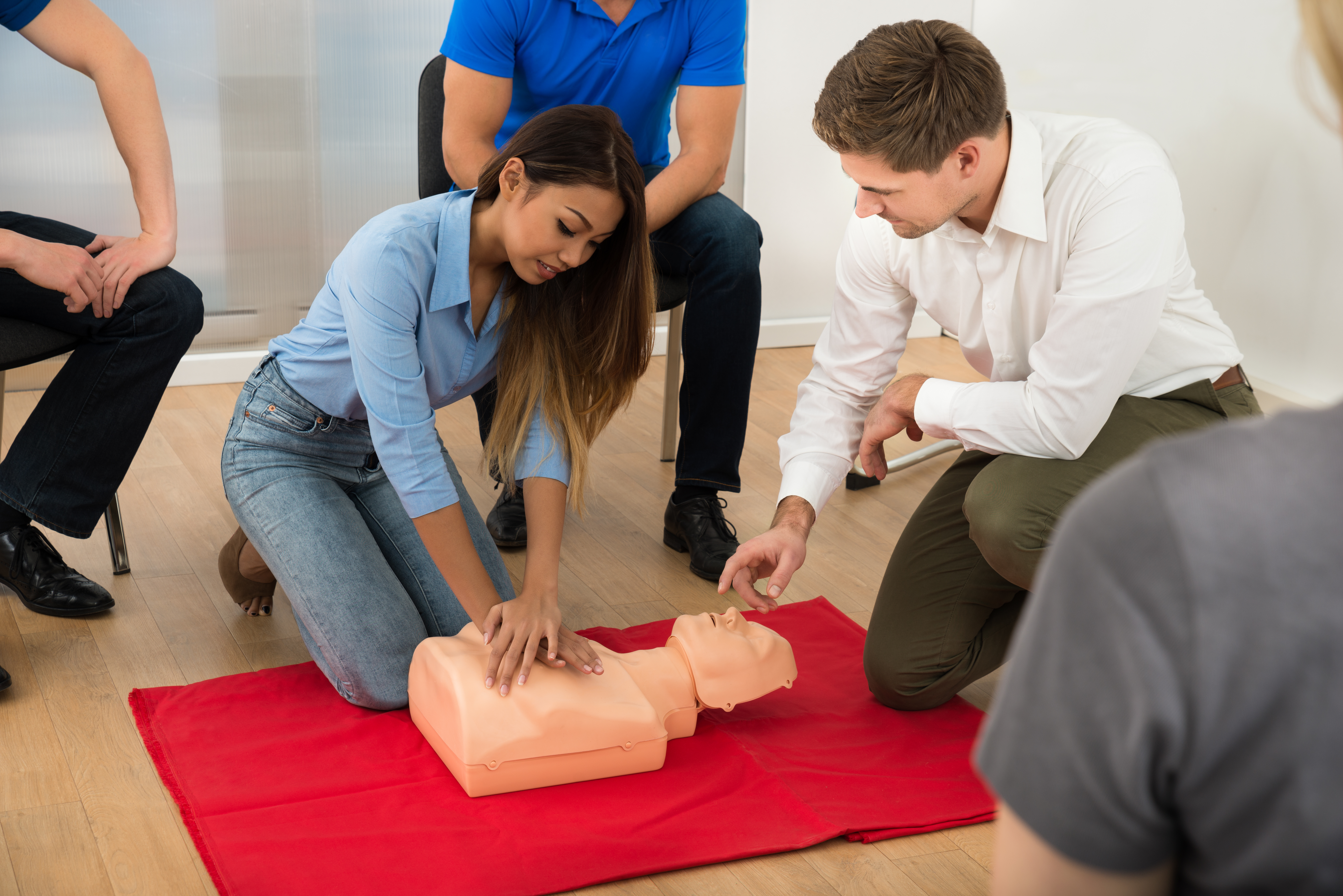American Heart Assn Cpr/aed & First Aid Course
