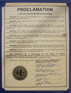 City of Vero Beach Proclamation