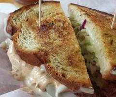Crunchy Grouper Rubin Sandwich