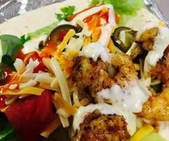 Buffalo Shrimp Taco