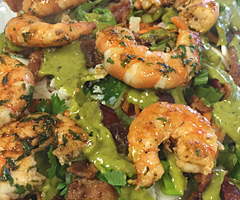 Shrimp and Bacon Salad